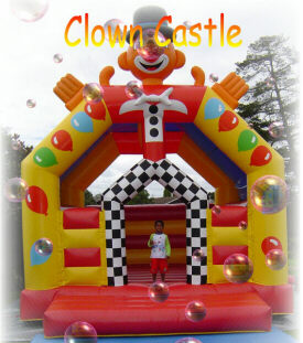 5x5 clown bouncer