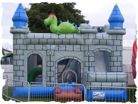 dino bouncer slide